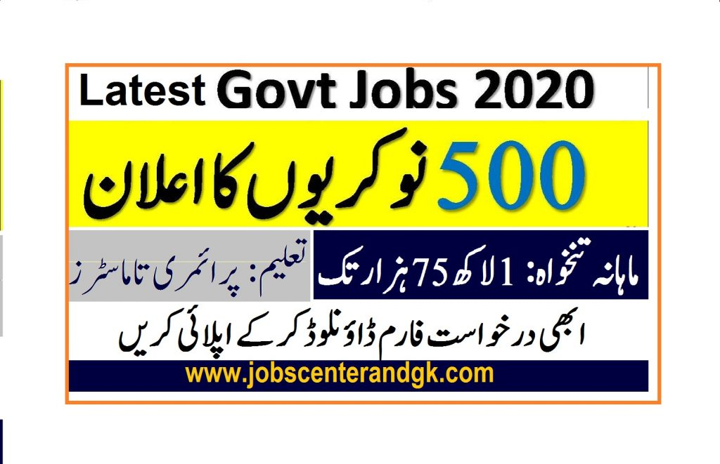 Application Form for Survey of Pakistan SOP Jobs 2020