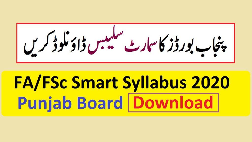 smart syllabus 2020-2021
