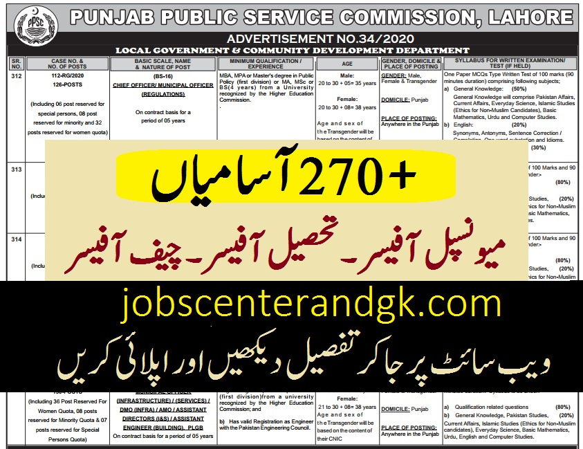 Local Government And Community Development Department Jobs 2020