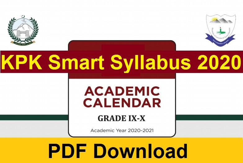KPK smart syllabus download