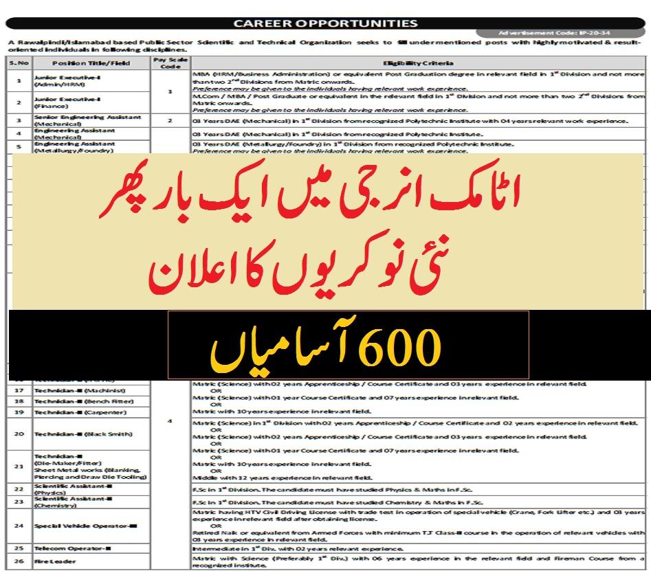 paec jobs apply online