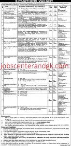 FBISE jobs advertisement 2021