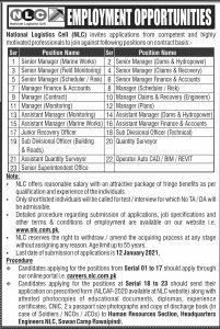 Latest NLC jobs 2021 advertisement