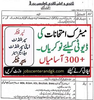 bise multan jobs 2021