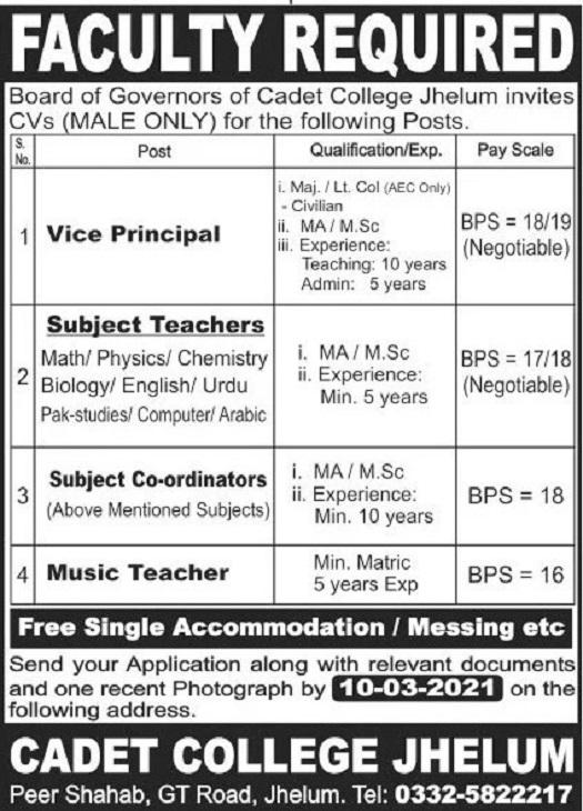 teaching jobs 2021 ad