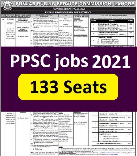 ppsc today vacancies