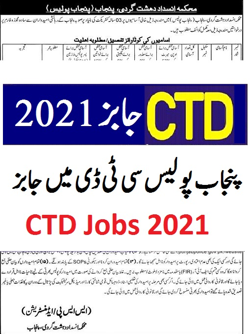 punjab police Jobs 2021 application form