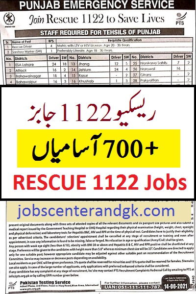 PTS rescue 1122 jobs in June 2021