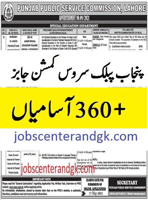 ppsc ad no 09 2021