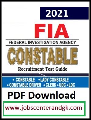 FIA Preparation book