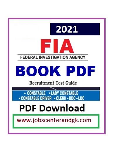 FIA constable test Preparation book