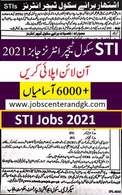 STI jobs 2021 ad